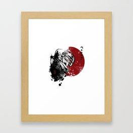 Berserk Guts Framed Art Print