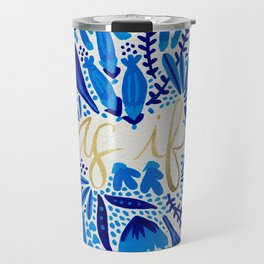 As If – Navy & Gold Travel Mug
