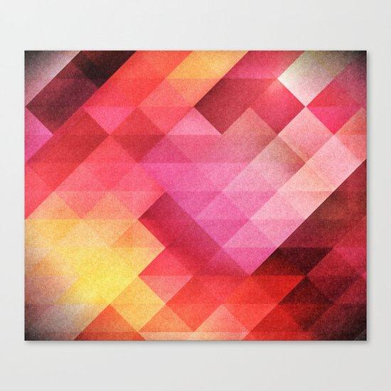 Fall pattern Canvas Print