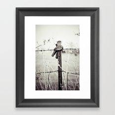 Farm Hands Framed Art Print