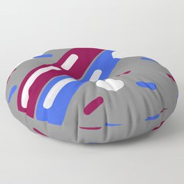 80's Office Supplies No. 1 Floor Pillow