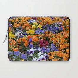 Pancy Flower 2 Laptop Sleeve