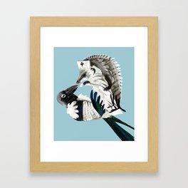 Thanks for your help (GREFA) Framed Art Print
