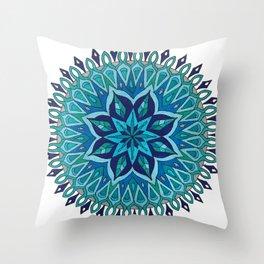 Mandala of Intuition Throw Pillow