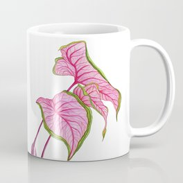 Lady Caladium Coffee Mug
