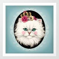 Cat Series I Art Print