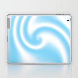 Blue Raspberry Ribbon Candy Fractal Laptop & iPad Skin