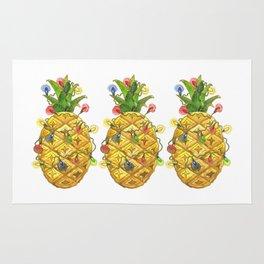 The Christmas Pineapple Rug