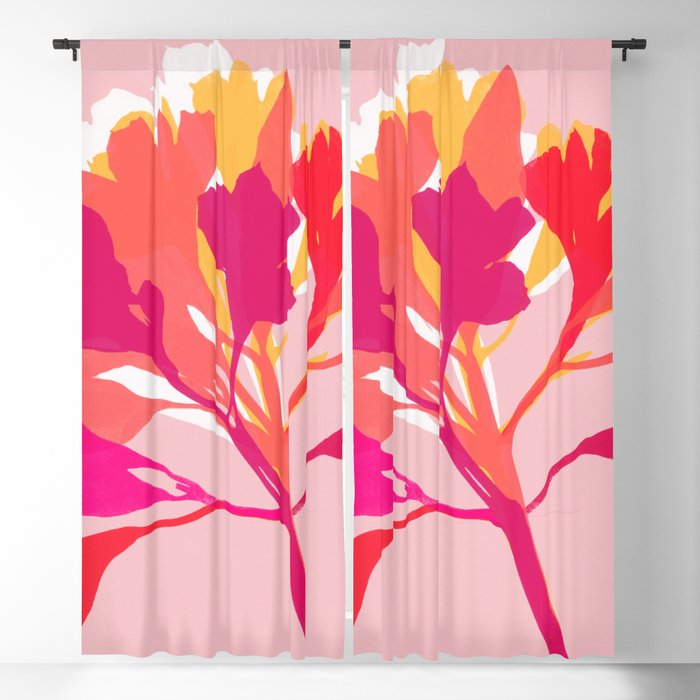 alstroemeria 3 Blackout Curtain