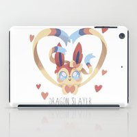 sylveon iPad Cases featuring Dragon Slayer by Oh My Dog!