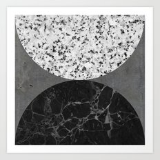 Marble, Granite, Concrete Abstract Art Print