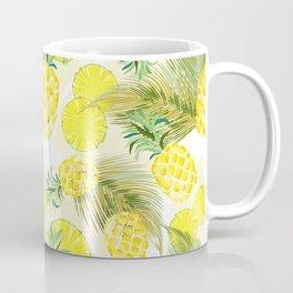 Pineapple Watercolor Fresh Summer Fruit Coffee Mug