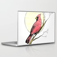 cardinal Laptop & iPad Skins featuring Cardinal by Eric Weiand