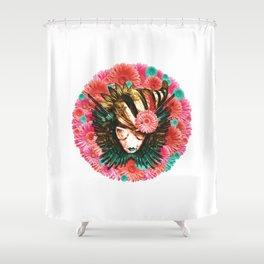 Faites La Mode Pas La Guerre - Logo Only Shower Curtain