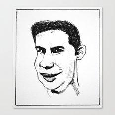 Snigger  Canvas Print