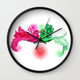 Lovie & Dovie  Wall Clock