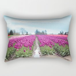 birds eye view Rectangular Pillow