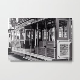 Powell & Market Metal Print