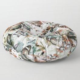 Orchidaceae Floor Pillow