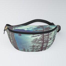 Crater Lake Vintage Summer Fanny Pack