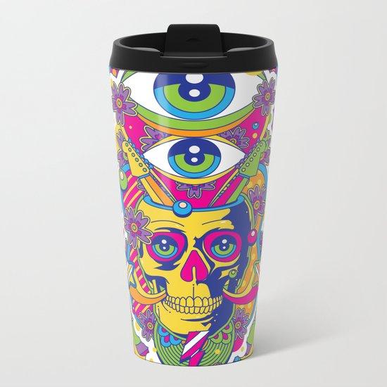 Skulldelic Metal Travel Mug