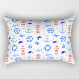 Marin pattern Rectangular Pillow