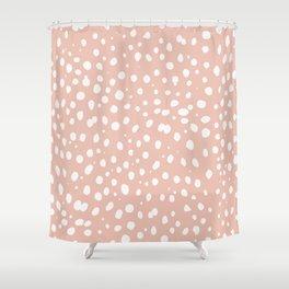 LEOPARD PINK Shower Curtain