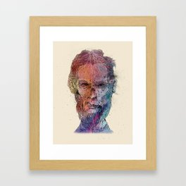 Zombie Lincoln Framed Art Print
