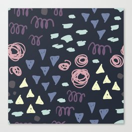 Fun Abstract Pattern Canvas Print