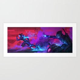 The Fastest Woman on Earth Art Print