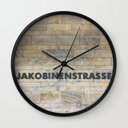 Nuremberg U-Bahn Memories - Jakobinenstrasse Wall Clock
