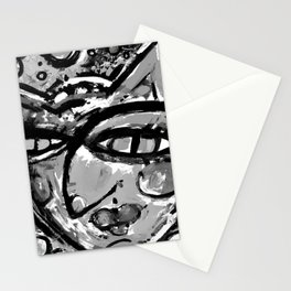 Wiggle Snickle Doodley Doo 1a by Kathy Morton Stanion Stationery Cards