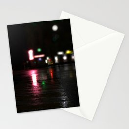 The crosswalk Stationery Cards