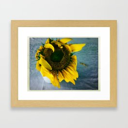 inspiration in simple things Framed Art Print