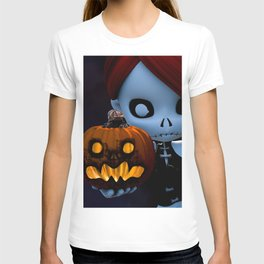 Rag Doll Halloween T-shirt