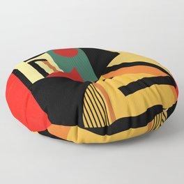 THE GEOMETRIST Floor Pillow