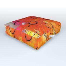 Summer Heat Outdoor Floor Cushion