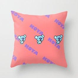 BTS RM BT21 Koya Throw Pillow