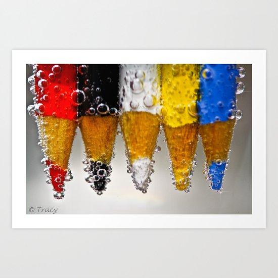 pencil Fun Art Print