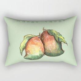 Mango Tango. Rectangular Pillow