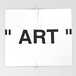 """ Art "" Throw Blanket"