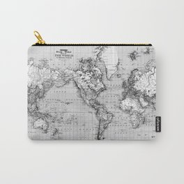Marbled World Carry-All Pouch