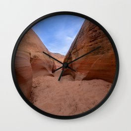 Colorful Canyon - 3, Valley of Fire State Park, Nevada Wall Clock