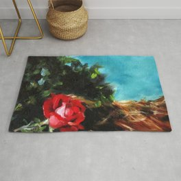Knock Out Rose Rug