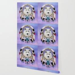 Native American Indian Wolf Spirit Wallpaper