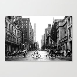 New York City Streets Canvas Print