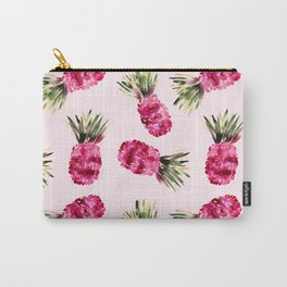 Pink Pineapples Carry-All Pouch