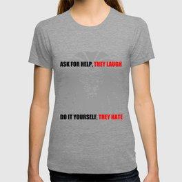 grey lion T-shirt