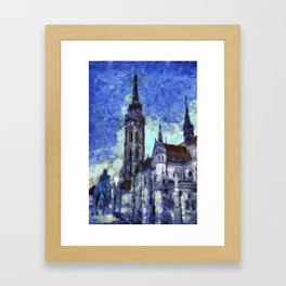 The Church Vincent Van Gogh Framed Art Print