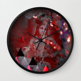 Krishna Reprise - The Hindu God Wall Clock